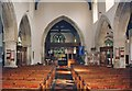 SP7416 : St Michael & All Angels, Waddesdon - East end by John Salmon
