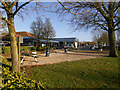 SP3457 : M40 Warwick Services (Picnic Area) by David Dixon