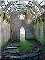 NT9250 : Inside Fishwick Mortuary Chapel by Walter Baxter