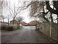 TA1431 : The carpark at Barham Road playing fields, Hull by Ian S
