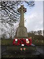 SE2413 : The War Memorial at Emley, Yorkshire by Ian S