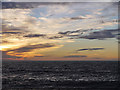 SN5780 : Sunset, Cardigan Bay by Nigel Brown