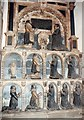 SK2168 : All Saints, Bakewell - Wall monument by John Salmon