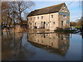 TL0386 : Barnwell Mill overwhelmed with flood water : Week 52(part1)