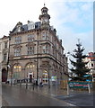 ST3188 : HSBC and a Christmas tree, Newport city centre by John Grayson
