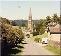 SK2569 : St Peter, Edensor by John Salmon