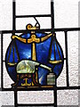SD3139 : One of the leaded windows at the Bispham Hotel by Ian S