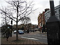 TQ3276 : Denmark Hill at the junction of Camberwell Church Street Camberwell by David Howard