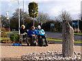 SP7916 : Lunch break in Berryfield by Michael Trolove