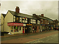 SJ7560 : Shops on the west side of the High Street by Stephen Craven