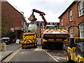SP2864 : Road resurfacing operations, Brook Street by Robin Stott