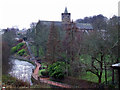 NN7801 : Dunblane Cathedral by Thomas Nugent