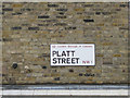 TQ2983 : Street nameplate mounted on London brick by Robin Stott