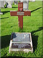 HU4869 : Norwegian seamens' grave by Mark Stockdale