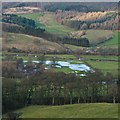 SK2465 : Flooded field beside the A6 by David Lally