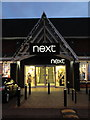 SJ3563 : 'next' at Broughton Shopping Centre by John S Turner