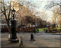 TQ3081 : Queen Square Gardens, WC1 by David Hallam-Jones