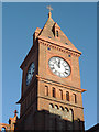 TQ3104 : Clock tower on the Chapel Royal, Brighton by Roger  Kidd