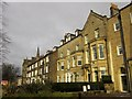 SE3054 : Buildings on West Park, Harrogate by Derek Harper