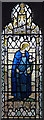 TQ2486 : All Saints, Church Walk - Stained glass window by John Salmon