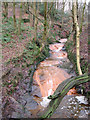 SJ9894 : Hurst Clough Brook by Stephen Burton