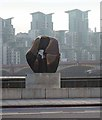 TQ3078 : &quot;Locking Piece&quot;, Millbank by Oliver Dixon