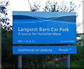 SE2100 : Langsett Barn Car Park, Langsett Reservoir, Langsett, near Stocksbridge by Terry Robinson