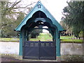SK7202 : Entrance to Billesdon cemetery by Mat Fascione