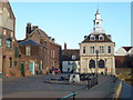 TF6120 : The Custom House on Purfleet Quay, King's Lynn by Richard Humphrey