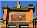 SD3317 : 'Towles Buildings 1895' at 519 Lord Street, Southport by John S Turner