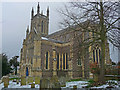 SU3645 : Andover - St Mary's Church by Chris Talbot