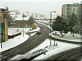 TQ2636 : A snowy day in Crawley town by Robin Webster