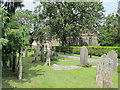TQ5130 : All Saints Church, Church Road, TN6 - churchyard by Mike Quinn