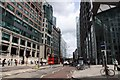 TQ3381 : Looking down Bishopsgate by Steve Daniels