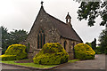 TL1607 : Chapel, Hatfield Road Cemetery by Ian Capper