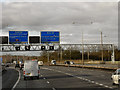 SP1372 : M40/M42 Interchange (northbound) by David Dixon