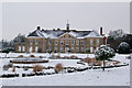 TQ2549 : Reigate Priory in snow by Ian Capper