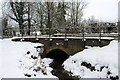 SP7329 : Stream flows under the A413 by Philip Jeffrey