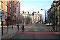 SJ8498 : Portland St, A6 by Nigel Chadwick