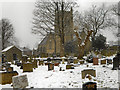 SD7507 : St Matthew's Church and Graveyard, Little Lever by David Dixon