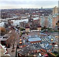 TQ2677 : Chelsea from Ashbernham Tower, World's End Estate by PAUL FARMER