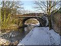 SD7706 : Manchester, Bolton and Bury Canal, Nickerhole Bridge by David Dixon