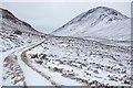 NN2874 : Lairig Leacach in Winter by Doug Lee