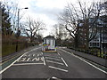 TQ3372 : View of the tollgate from College Road #3 by Robert Lamb