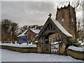 SD7907 : St Mary's Church and Lychgate by David Dixon