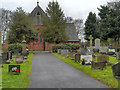 SJ5894 : Newton-le-Willows (Wargrave) Cemetery by David Dixon