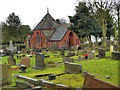 SJ5894 : The Chapel at Wargrave Cemetery by David Dixon