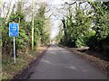SJ3871 : Demage Lane, Mollington by Jeff Buck