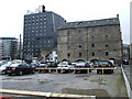 SJ8498 : Car park at Piccadilly Basin by Thomas Nugent