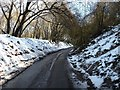 SP8907 : Hale Lane - view uphill by Rob Farrow
